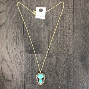 Lucky Brand Woman's turquoise necklace